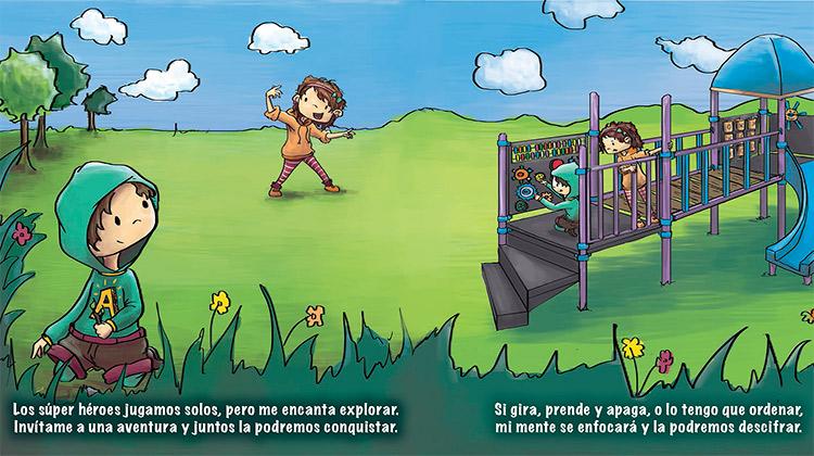 """Sofía Lachapelle lanza su libro """"Soy un súper héroe especial"""""""